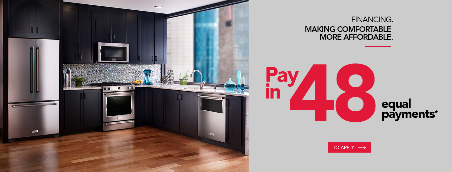 Financing. Making Comfortable. More affordable.